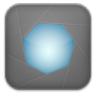 96x96px size png icon of aperture grey
