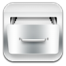 96x96px size png icon of filecab metal