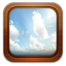 96x96px size png icon of gallery frame sky