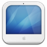 96x96px size png icon of imac white