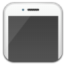 96x96px size png icon of iphone white
