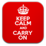 96x96px size png icon of keepCalm