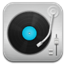 96x96px size png icon of music Record Player Blue