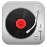 96x96px size png icon of music Record Player Red