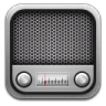 96x96px size png icon of radio metal