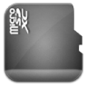 96x96px size png icon of sd card