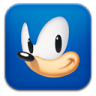 96x96px size png icon of sonic
