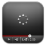 96x96px size png icon of youtube black wait