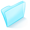 96x96px size png icon of folder blue normal