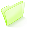 96x96px size png icon of folder green normal
