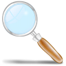 96x96px size png icon of loupe