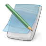 96x96px size png icon of note edit