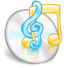 96x96px size png icon of software itunes
