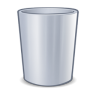 96x96px size png icon of system trash
