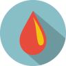 96x96px size png icon of Drop