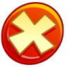 96x96px size png icon of Button cancel