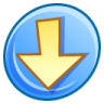 96x96px size png icon of Down
