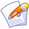 96x96px size png icon of Files edit
