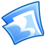 96x96px size png icon of Folder blue