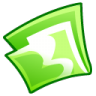 96x96px size png icon of Folder green