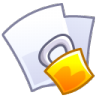 96x96px size png icon of Lock file