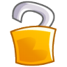 96x96px size png icon of Unlock