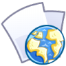 96x96px size png icon of Web file