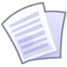 96x96px size png icon of Files text