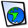 96x96px size png icon of doc globe
