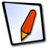 96x96px size png icon of doc redpen