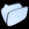 96x96px size png icon of folder lightblue