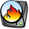 96x96px size png icon of harddrive cdrom burner
