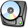 96x96px size png icon of harddrive cdrom