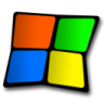 96x96px size png icon of windows symbol