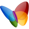 96x96px size png icon of Papillon MSN