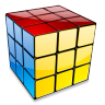 96x96px size png icon of Rubiks cube