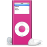 96x96px size png icon of iPod nano rose