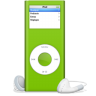96x96px size png icon of iPod nano vert