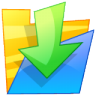 96x96px size png icon of Folder down