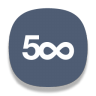 96x96px size png icon of 500px