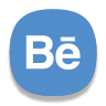 96x96px size png icon of Behance