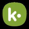 96x96px size png icon of Kik