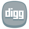 96x96px size png icon of Digg