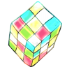 96x96px size png icon of rubik cube