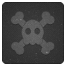 96x96px size png icon of skull