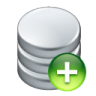96x96px size png icon of data add