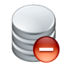96x96px size png icon of data remove