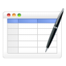 96x96px size png icon of table edit