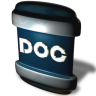 96x96px size png icon of File DOC