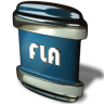 96x96px size png icon of File FLA